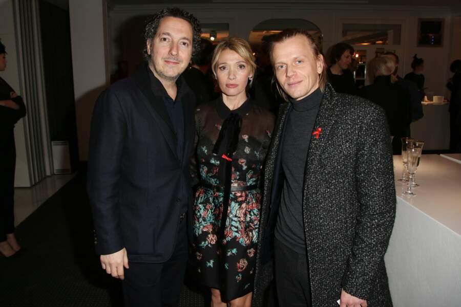 Anne Marvin, bien entourée par Guillaume Gallienne et Alex Lutz