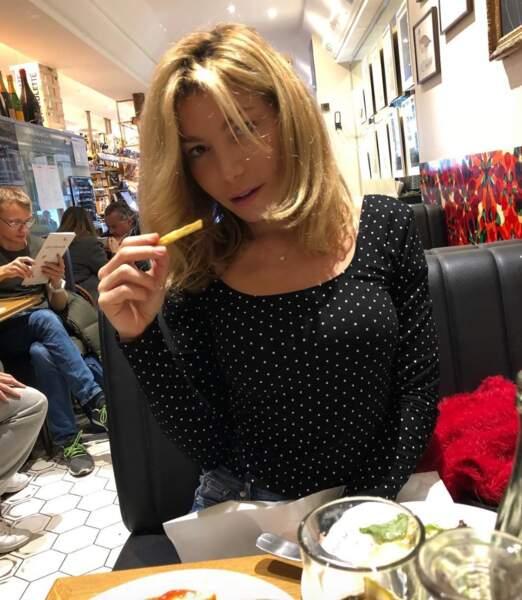 Lola Marois, elle, a la frite.
