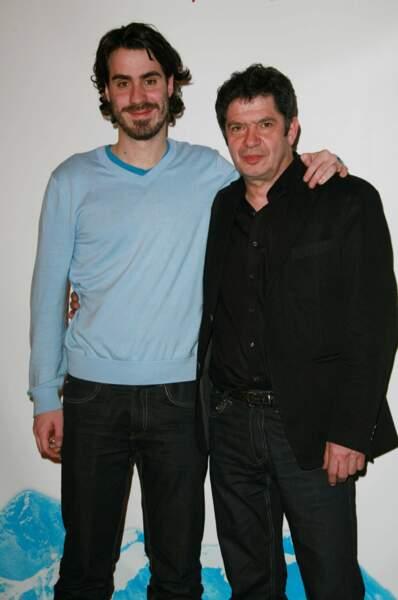 Simon Astier et son père
