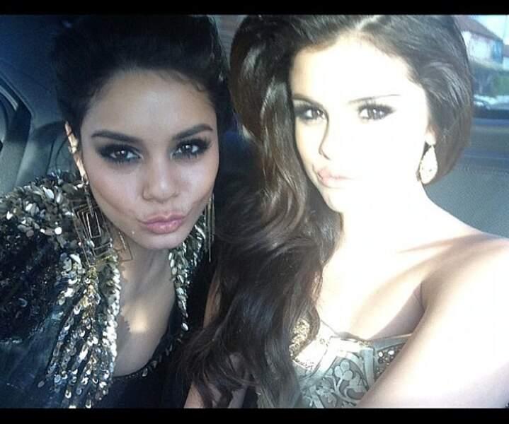 Retrouvailles avec sa copine Selena Gomez !