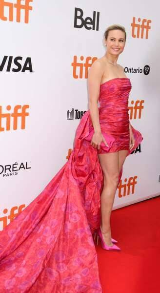 Brie Larson a préféré le rose