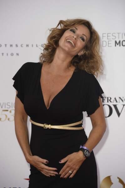 Tout comme Ingrid Chauvin, mais pour une toute autre bonne raison : l'actrice va devenir maman