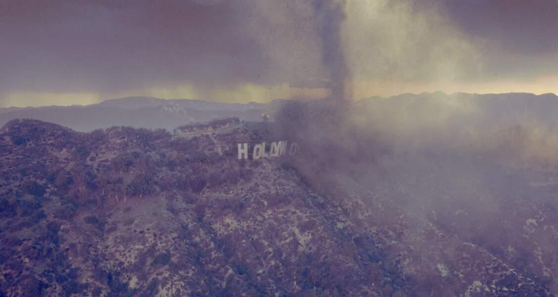 Le Jour d'après (2004) : des tornades multiples ravagent Los Angeles, et Hollywood.