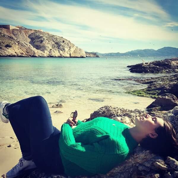 Rien de telle qu'une petite sieste en écoutant le clapotis de l'eau