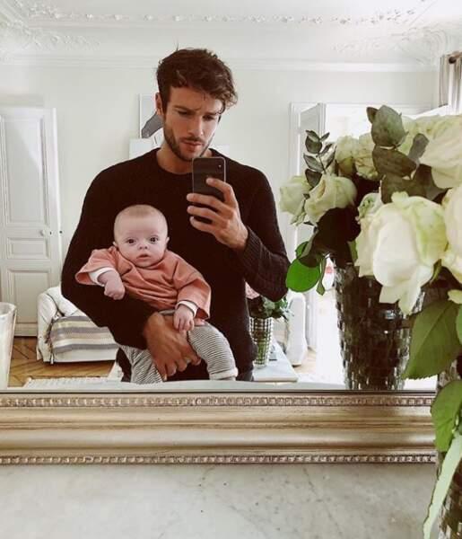 Hugo Philipp et son adorable enfant