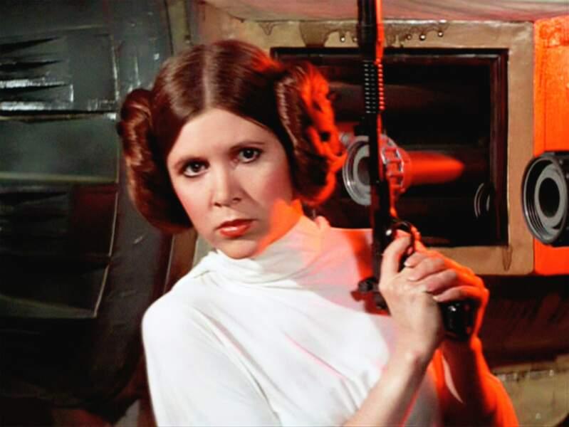 Princesse Leïa de Star Wars bien sûr !