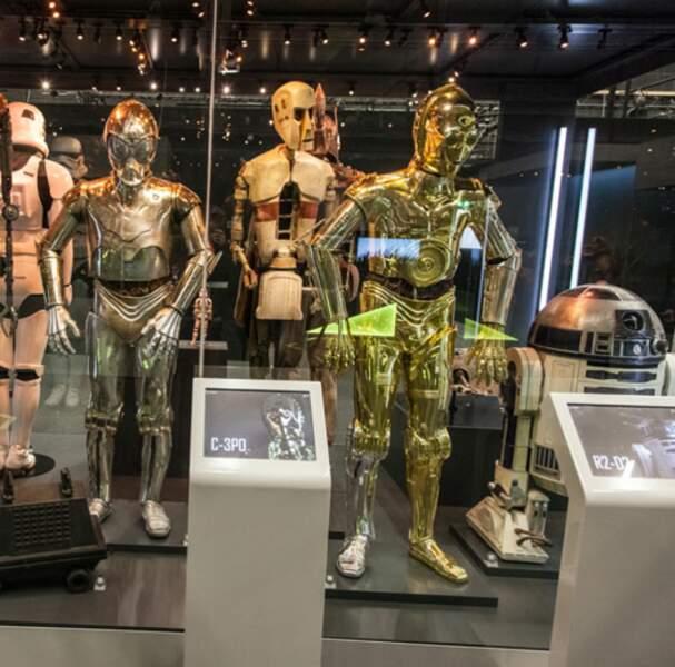Les robots et droids de la saga. C-3PO et R2-D2, les plus appréciés