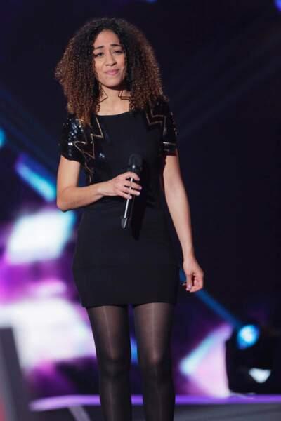 Najwa, 32 ans, talent de l'équipe de Mika