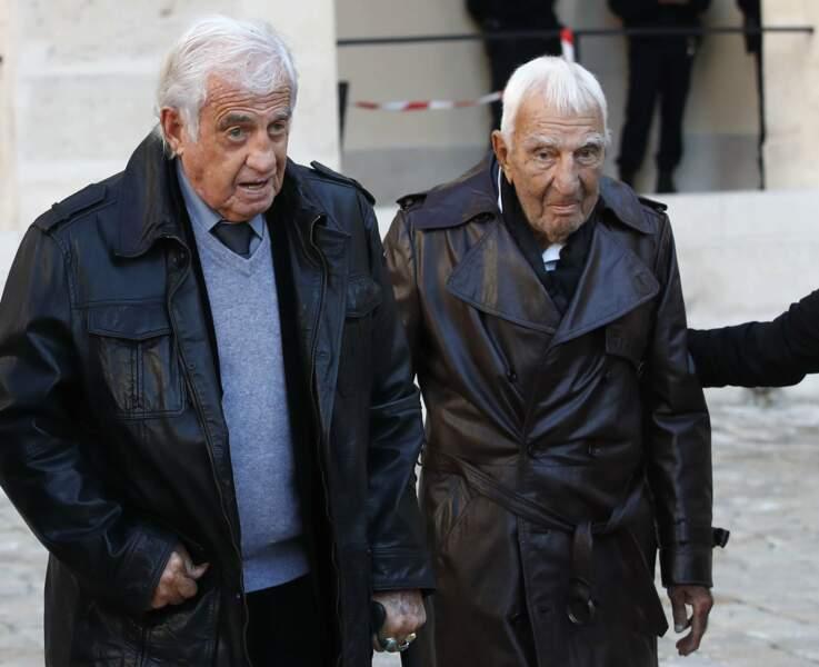 Jean-Paul Belmondo est venu accompagné de Charles Gerard