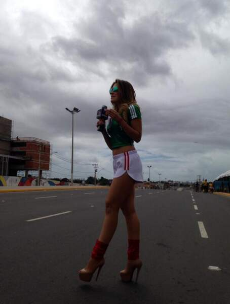 Une journaliste qui se balade beaucoup au Brésil...