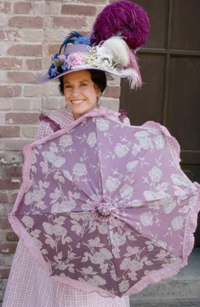Harriet Oleson jouée par Katherine MacGregor.