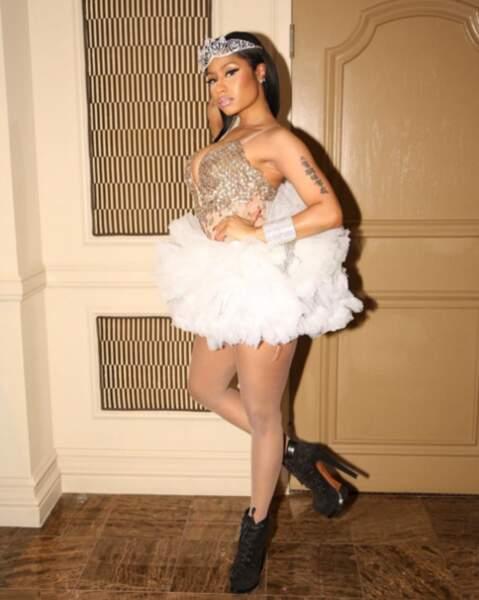 Nicki Minaj était une princesse.