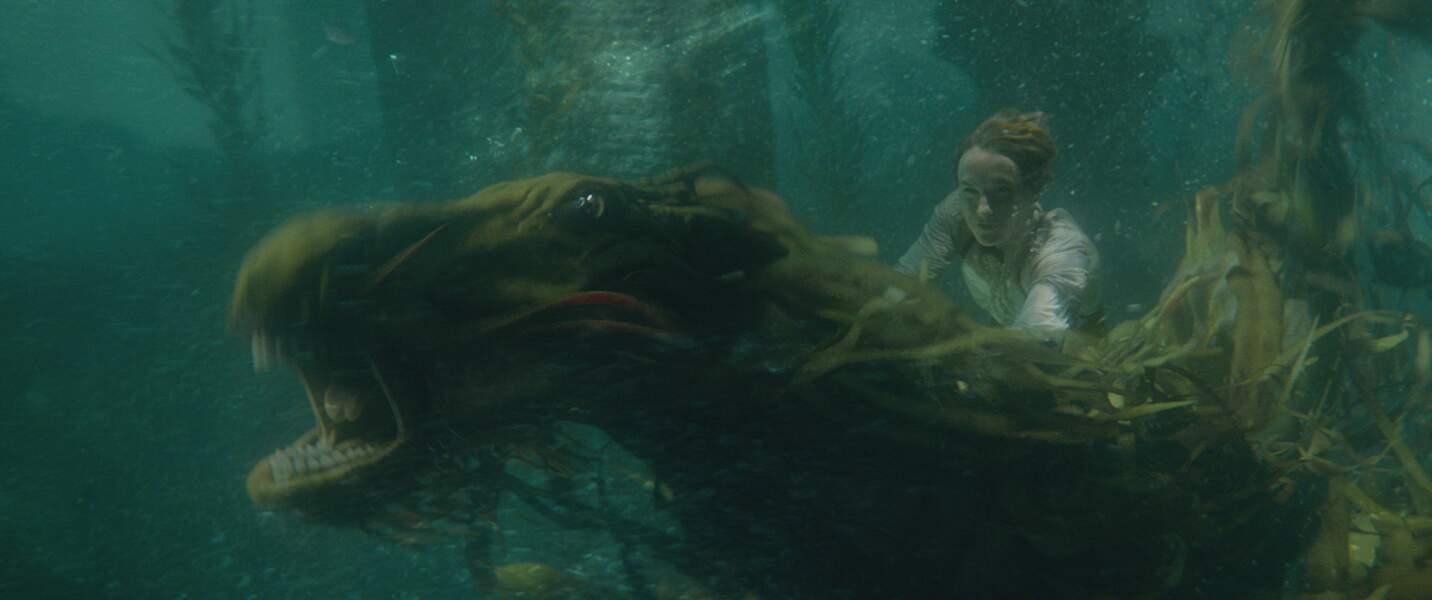 Le Kelpy est, quant à lui, un monstre marin effrayant entrainant les humains dans les eaux profondes
