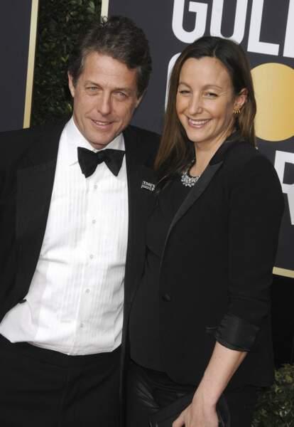 Le 25 mai, l'acteur Hugh Grant se marie avec Anna Eberstein, sa compagne depuis sept ans