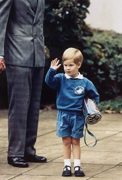 Septembre 1987, première rentrée au jardin d'enfants