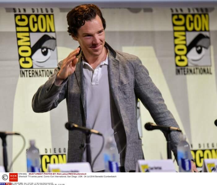 Benedict Cumberbatch était là pour la saison 4 de Sherlock, mais aussi le film Dr Strange