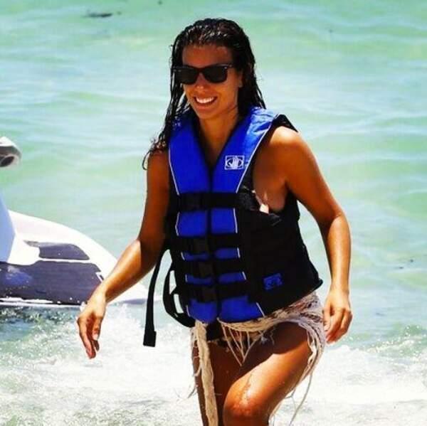 La bombe du Mondial, Ludivine Sagna, profite elle aussi de ses jours de repos