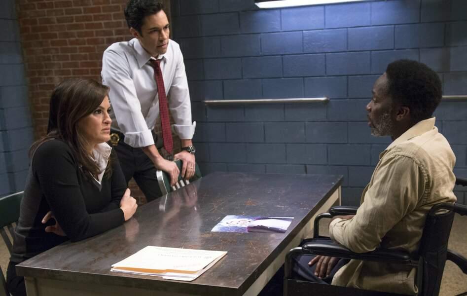 Et dans la saison 14 de New York, unité spéciale
