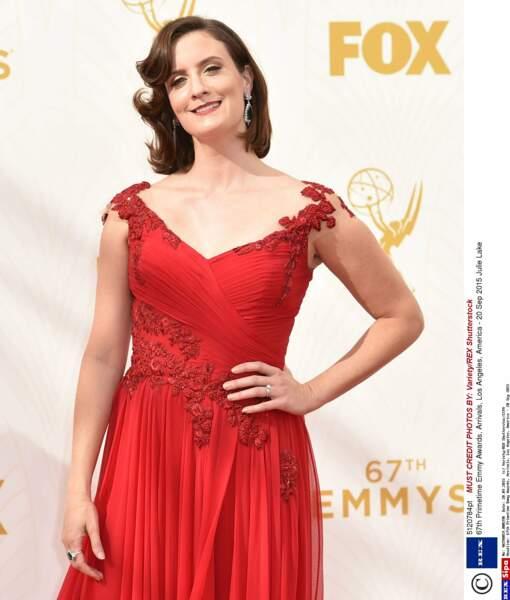 Julie Lake fait sûrement partie des actrices d'Orange is the New Black les moins reconnaissables en vrai !