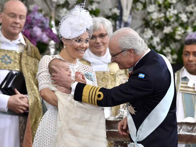 Le roi Carl XVI Gustav sait que sa descendance est assurée