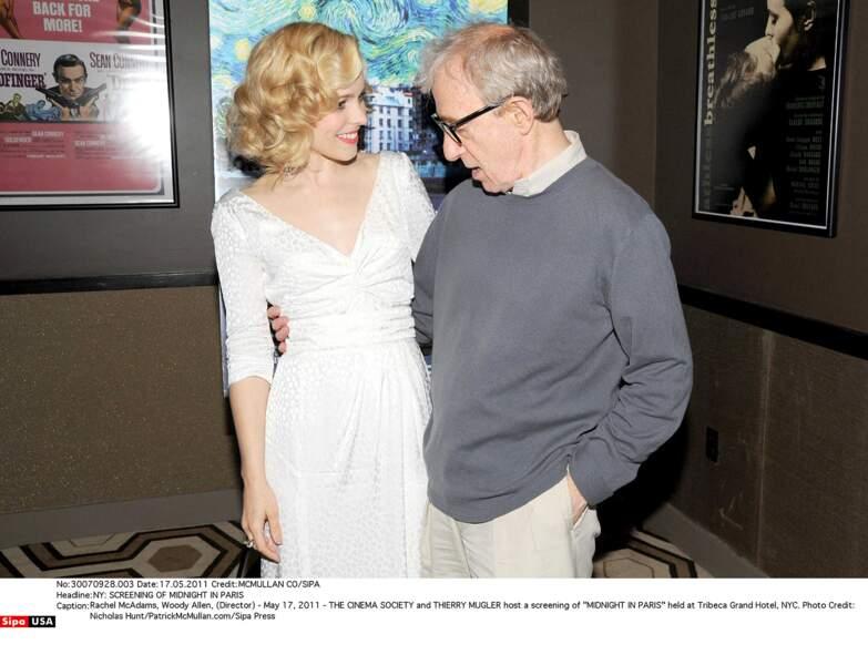 Et pour finir, Mr Woody Allen a le regard d'un expert sur le décolleté de l'actrice de Minuit à Paris.