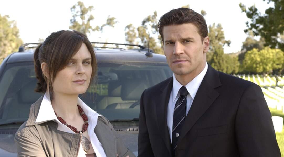 Durant 12 saisons, Emily Deschanel et David Boreanaz ont formé le duo de la série Bones