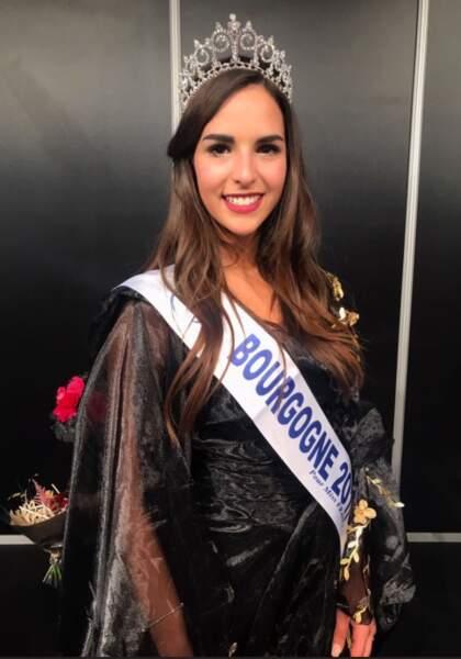 Mélanie Soarès (22 ans) a été élue Miss Bourgogne