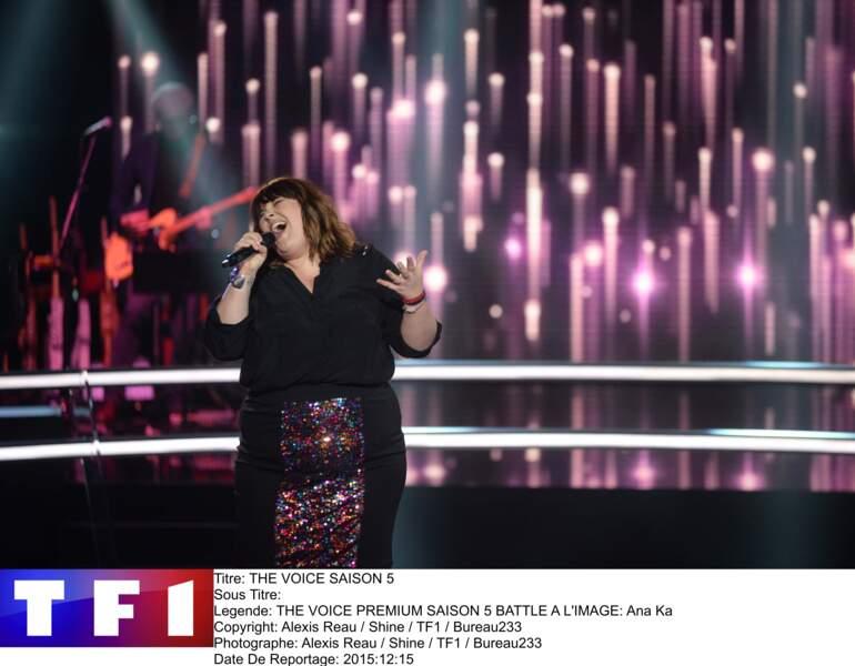 Ana Ka a été volée à Garou par Florent Pagny en chantant... N'importe quoi. Mais pas n'importe comment !