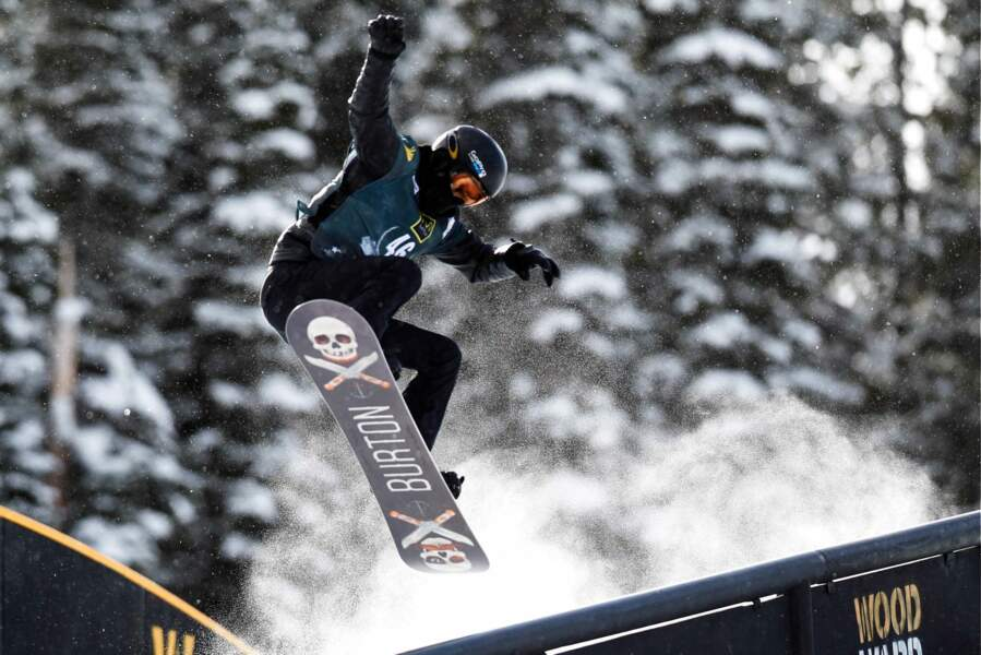 Shaun White, la star américaine des jeux en ski acrobatique