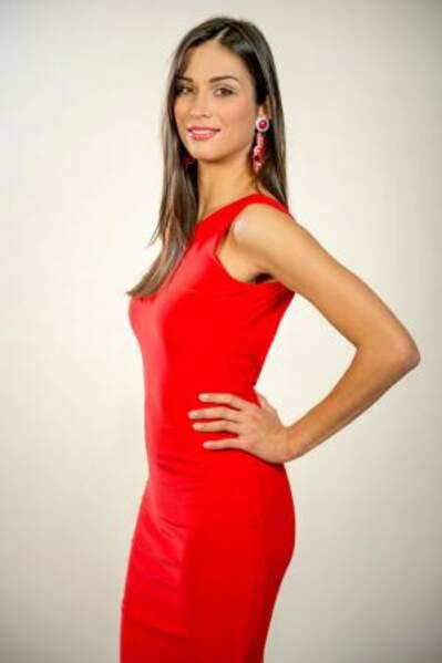 Cette jolie brune est Maja Spahija, Miss Croatie