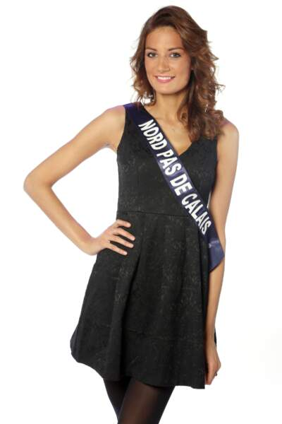 Gaëlle Mans, Miss Nord-Pas-de-Calais 2013
