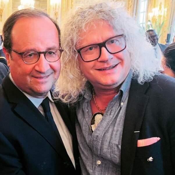Mais aussi l'ancien président de la République François Hollande