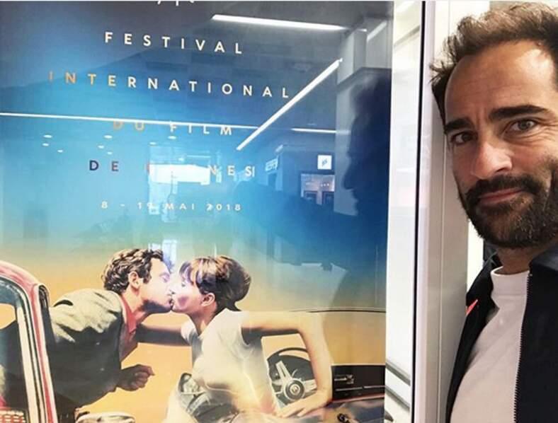 Florent Peyre était fier d'être à Cannes pour la première fois