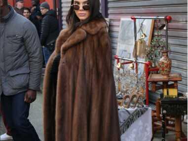 Kendall Jenner aux puces de Saint-Ouen