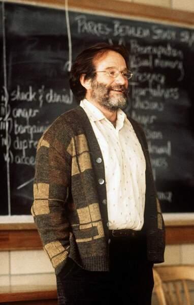 Robin Williams dans Will Hunting en 1998