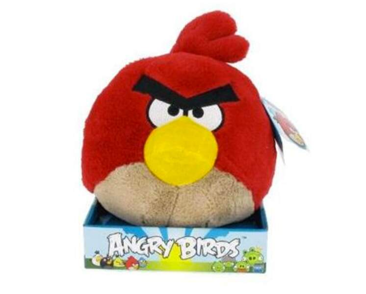 Peluche parlante animée Angry Birds