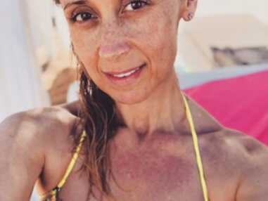 Instagram : Shy'm d'humeur sauvage, selfie en bikini pour Lara Fabian