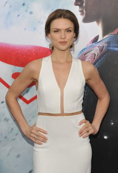 Tout comme Erin Richards, qui joue aussi dans la série Gotham