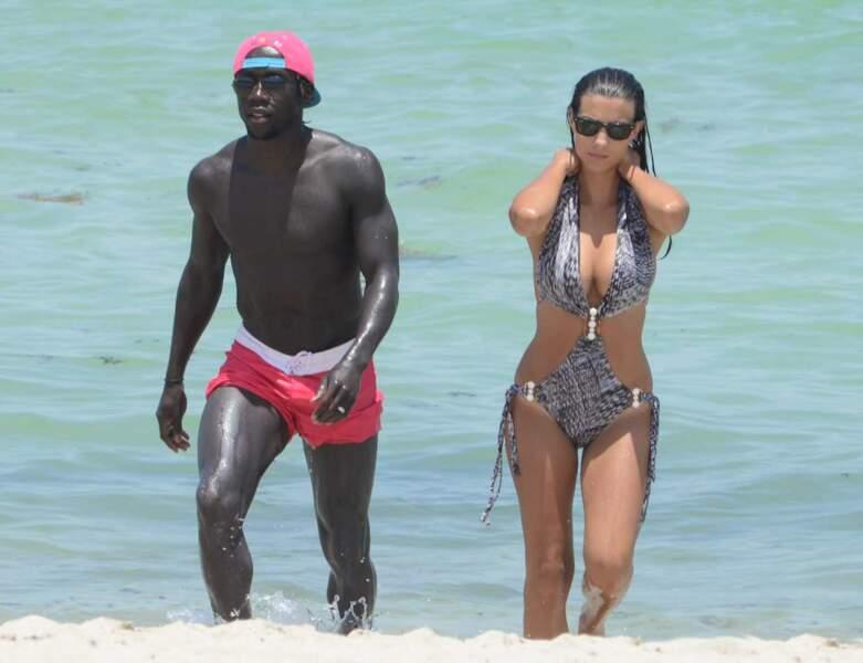 Avec son mari Bacary, Ludivine est radieuse