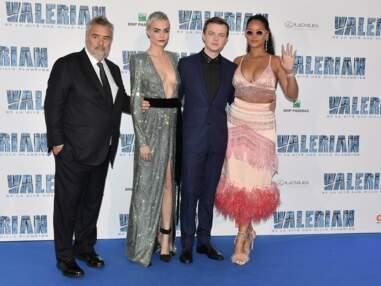 Rihanna, Cara Delavingne, Laura Smet : du beau monde à l'avant-première parisienne de Valerian