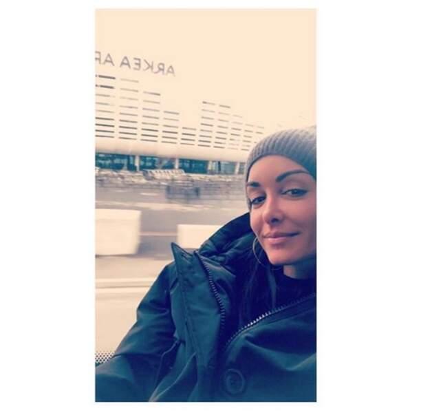 """Jenifer, première """"Enfoirée"""" de l'année à immortaliser sa présence par un selfie"""
