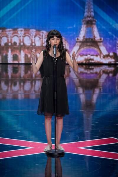 """La jeune chanteuse lyrique Léa, """"golden buzzer"""" inattendue de Gilbert Rozon"""