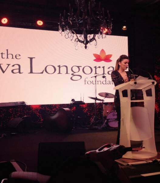 Eva Longoria se mobilise pour la bonne cause au Global Gift Gala