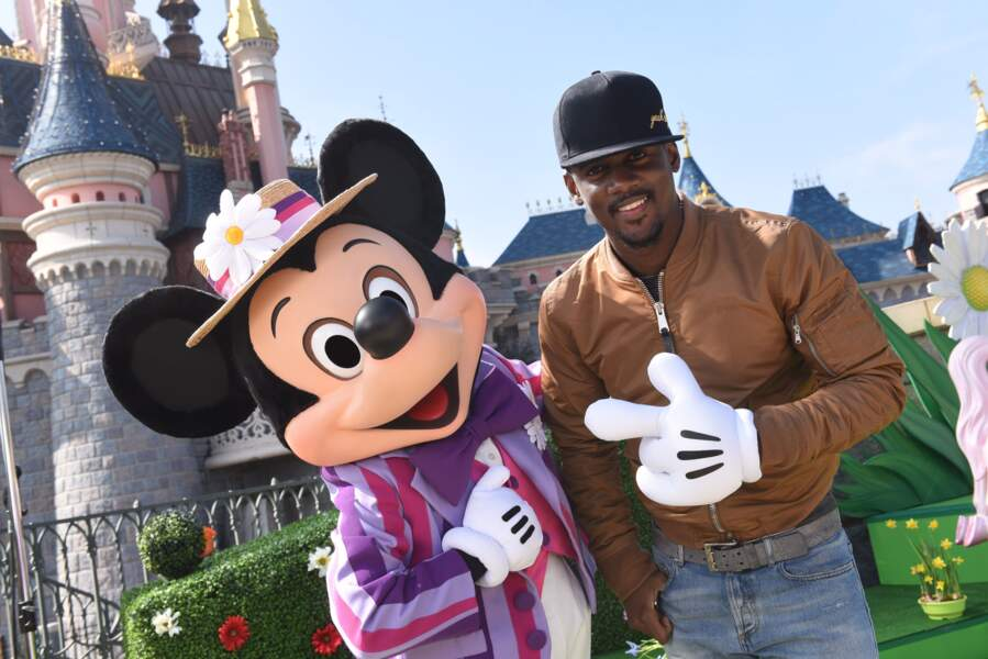 Black M et Mickey fêtent le printemps à Disneyland Paris