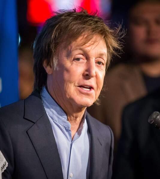"""Paul McCartney, végétarien convaincu, propose depuis 2014 les """"lundis sans viande""""."""