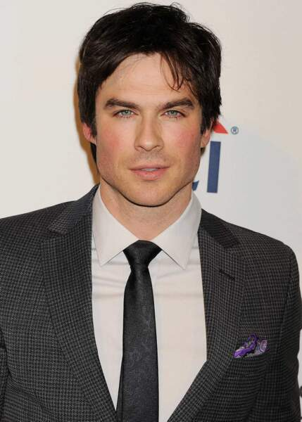 13ème place. L'acteur et mannequin Ian Somerhalder descend de 9 places.