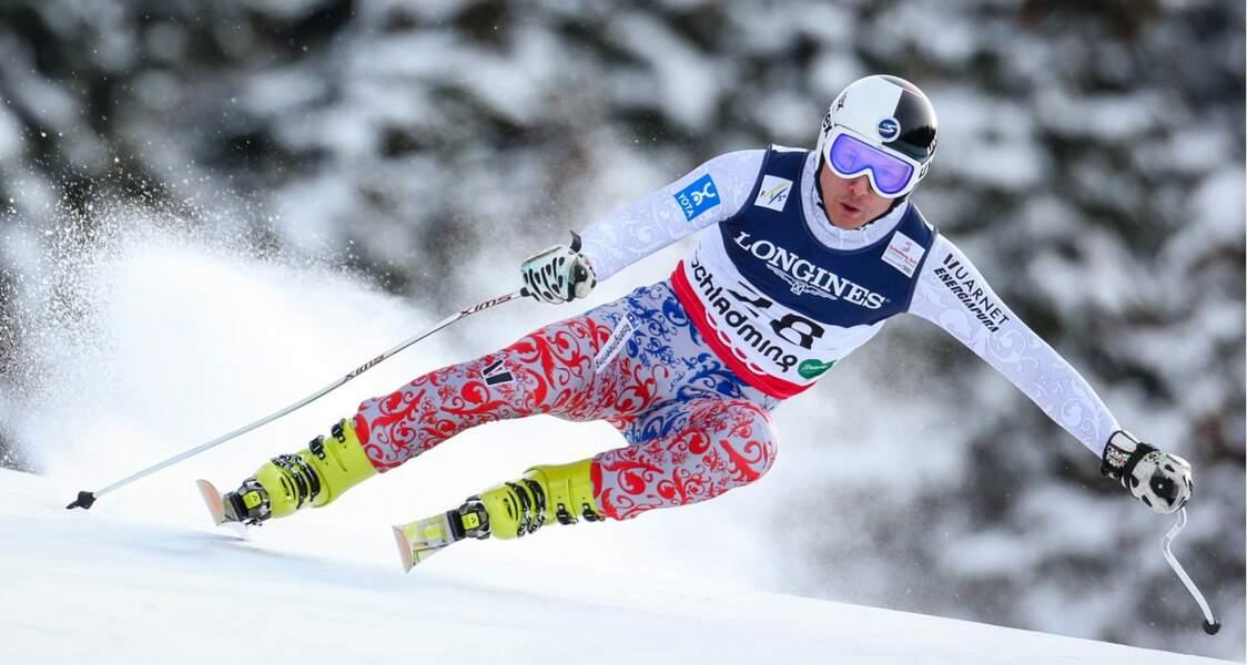 Alexander Khoroshilov, le porte-drapeau du ski alpin russe