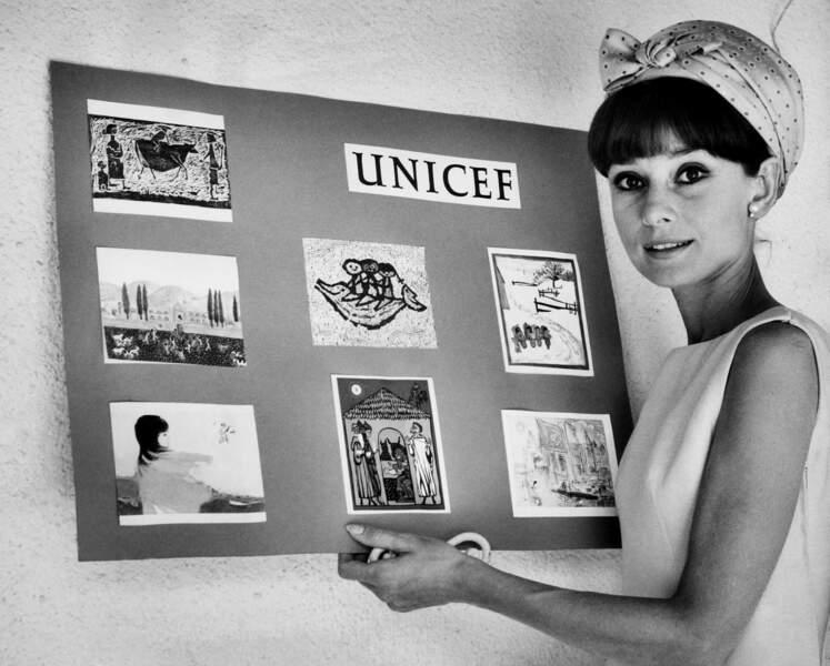 Mais c'est un autre rôle qui l'attendait avec son engagement pour l'Unicef, déjà en 1964