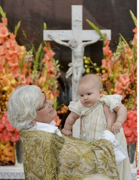 Ç a y est, je suis officiellement baptisé ! Merci Madame l'archevêque Antje Jackelen