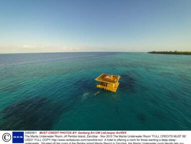 Manta Resort, Ice Hotel... Voici les hôtels les plus insolites du monde !